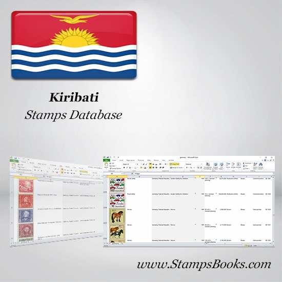 Kiribati Stamps dataBase