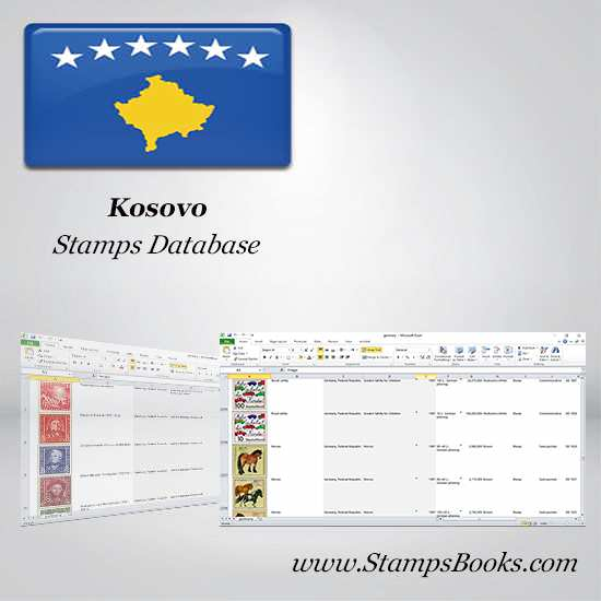 Kosovo Stamps dataBase