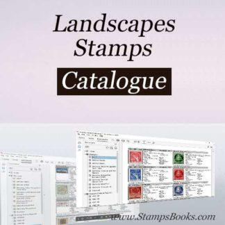 Landscapes stamps