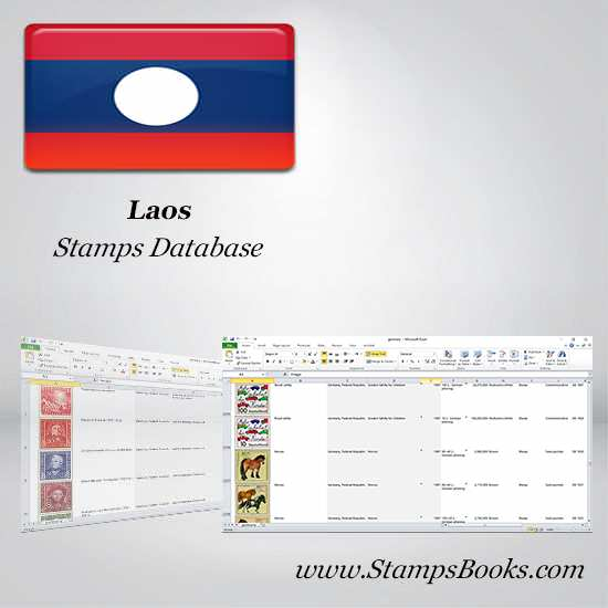 Laos Stamps dataBase