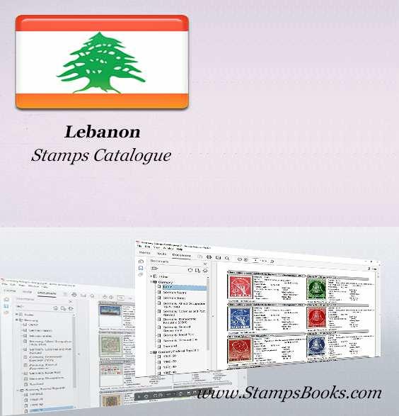 Lebanon Stamps Catalogue