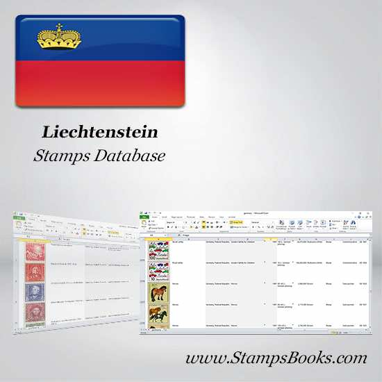 Liechtenstein Stamps dataBase