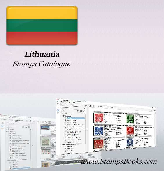 Lithuania Stamps Catalogue