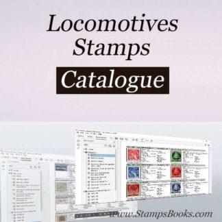 Locomotives stamps