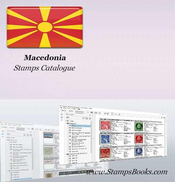 Macedonia Stamps Catalogue