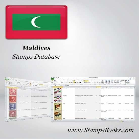 Maldives Stamps dataBase