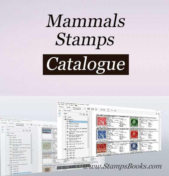Mammals stamps