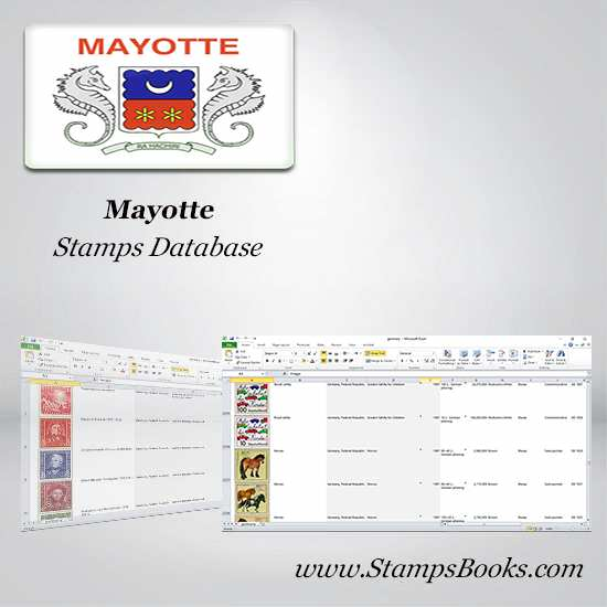 Mayotte Stamps dataBase