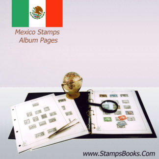timbres Mexique