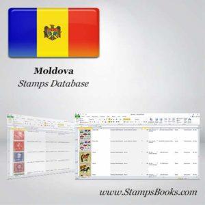 Moldova Stamps dataBase