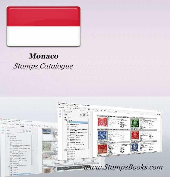 Monaco Stamps Catalogue