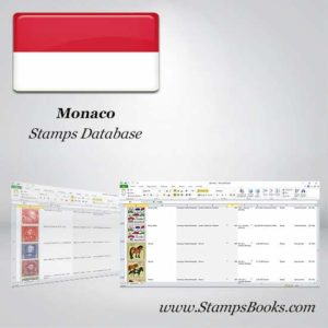Monaco Stamps dataBase