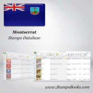 Montserrat Stamps dataBase