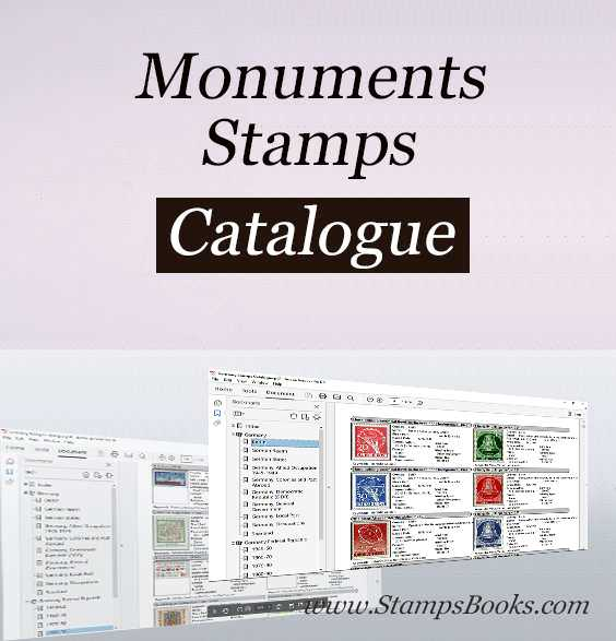 Monuments stamps