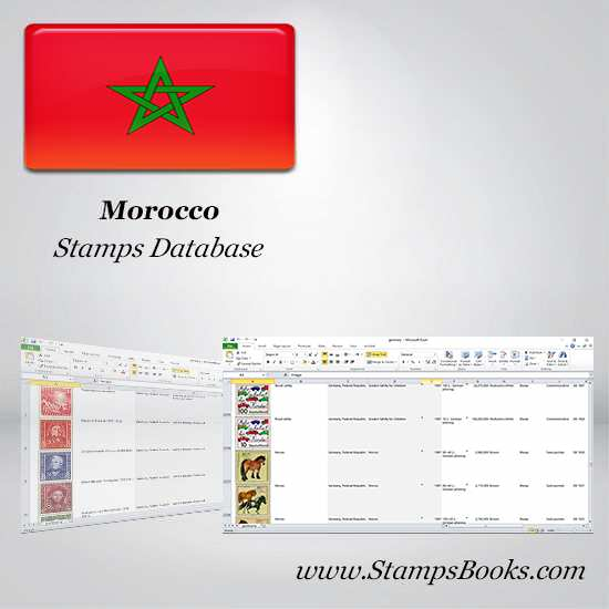 Morocco Stamps dataBase