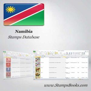 Namibia Stamps dataBase