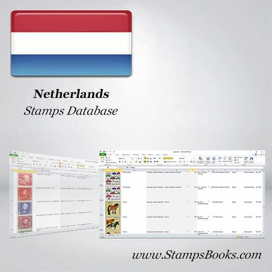 Netherlands Stamps dataBase