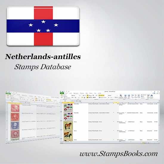 Netherlands antilles Stamps dataBase