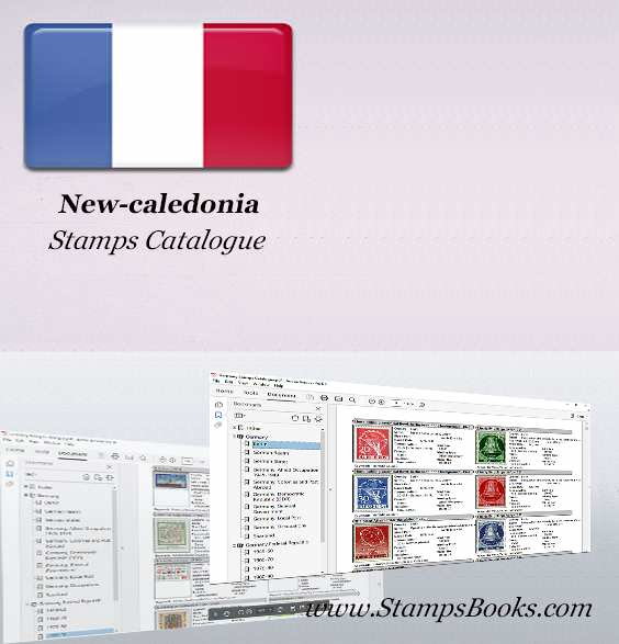 New caledonia Stamps Catalogue