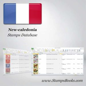 New caledonia Stamps dataBase
