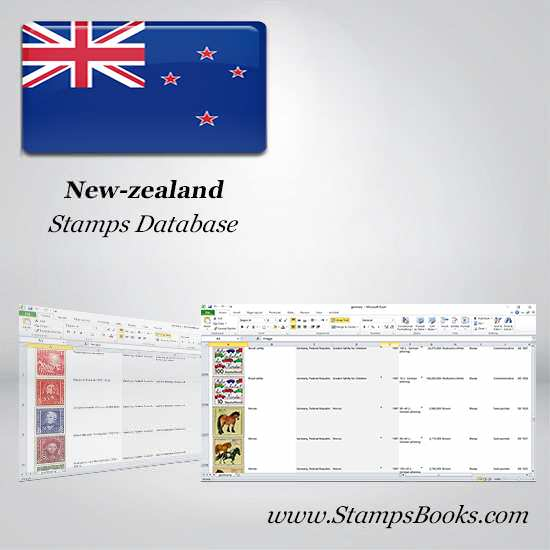New zealand Stamps dataBase