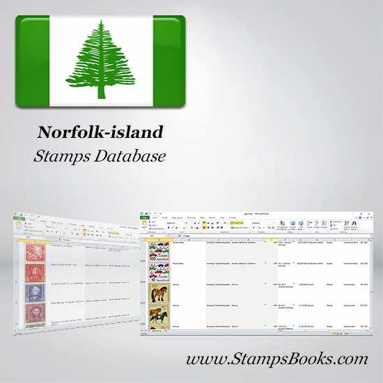 Norfolk island Stamps dataBase