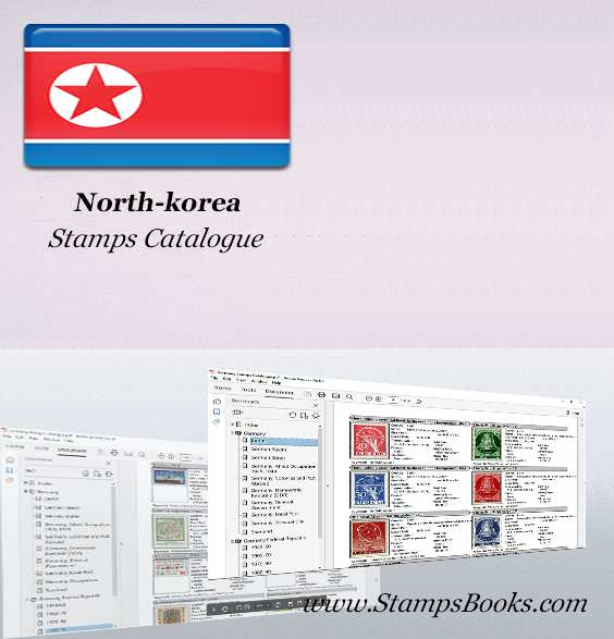 North korea Stamps Catalogue