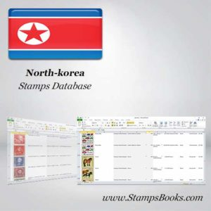 North korea Stamps dataBase