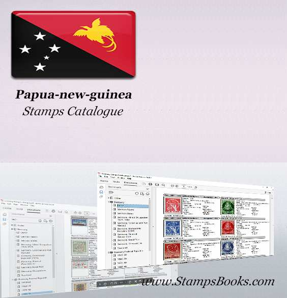 Papua new guinea Stamps Catalogue