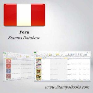 Peru Stamps dataBase