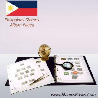 Philippines stamps Album