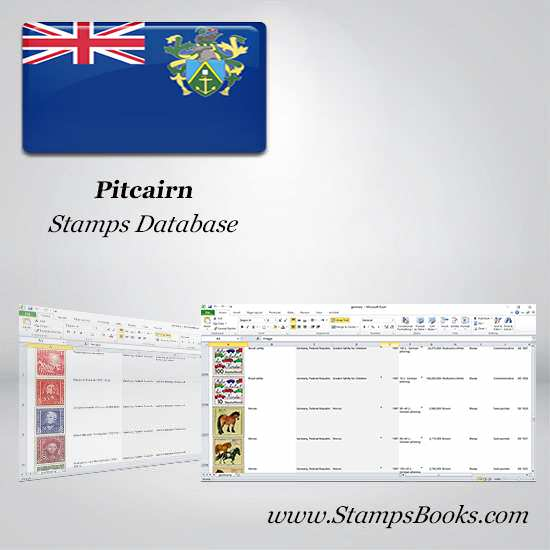 Pitcairn Stamps dataBase