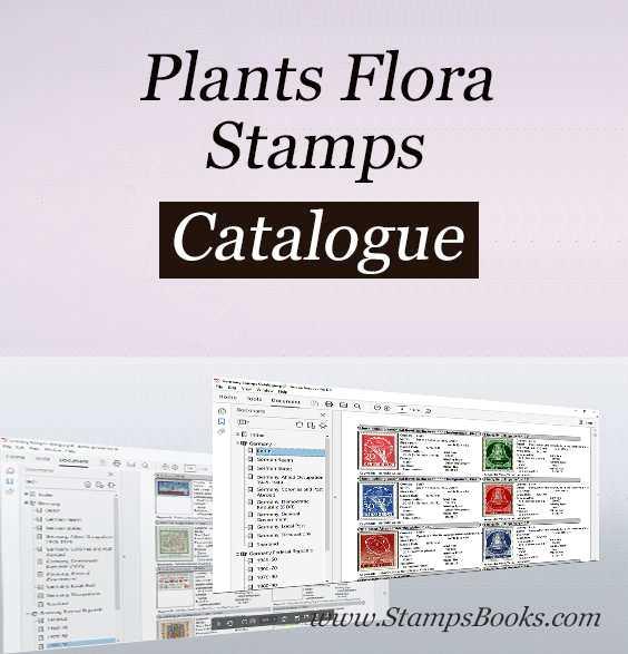 Plants Flora stamps