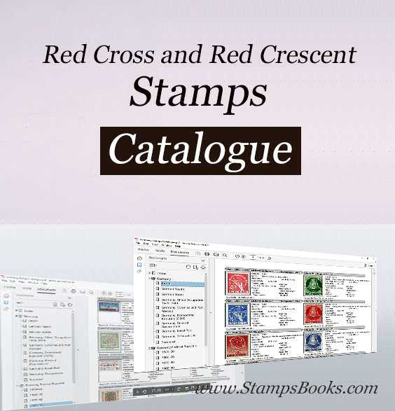 Red Cross and Red Crescent stamps