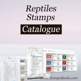 Reptiles stamps