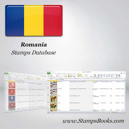 Romania Stamps dataBase