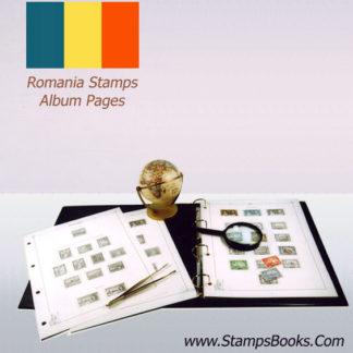 Romania stamps Album