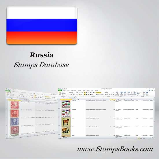 Russia Stamps dataBase