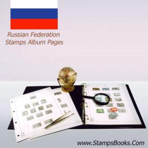 Russia Stamps Album