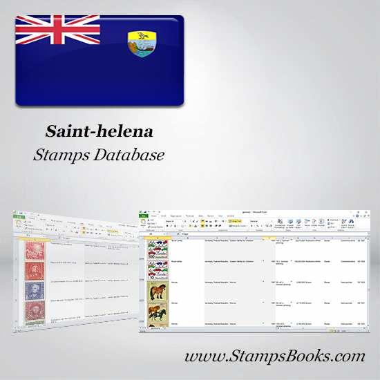 Saint helena Stamps dataBase