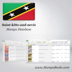 Saint kitts and nevis Stamps dataBase