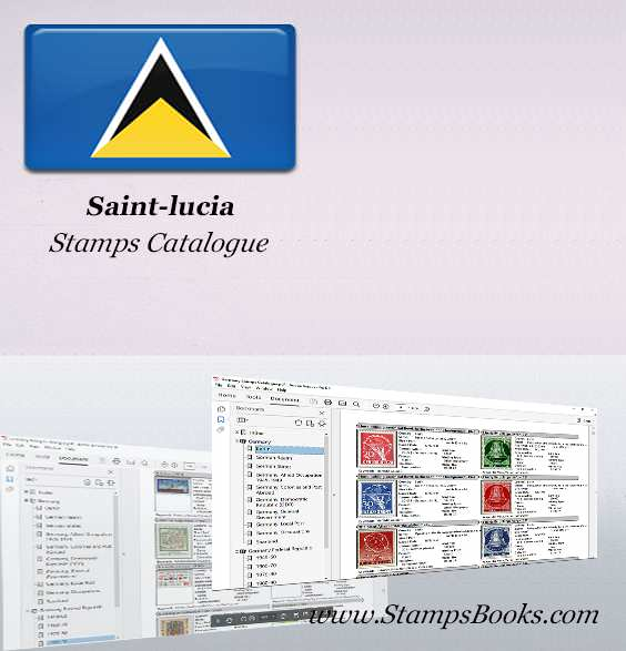 Saint lucia Stamps Catalogue