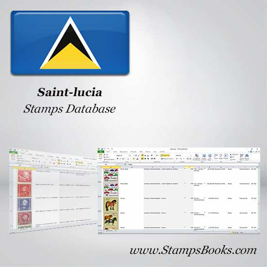 Saint lucia Stamps dataBase