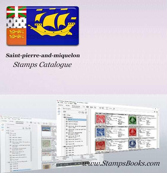 Saint pierre and miquelon Stamps Catalogue