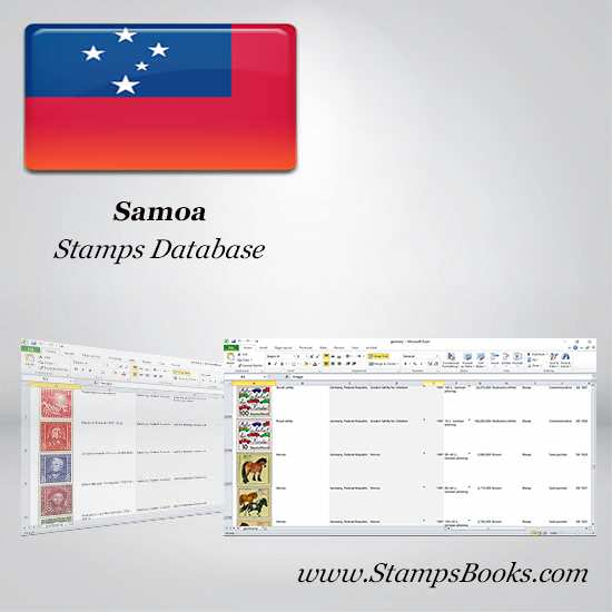 Samoa Stamps dataBase