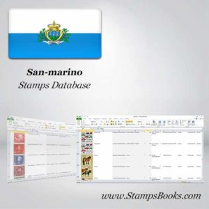 San marino Stamps dataBase