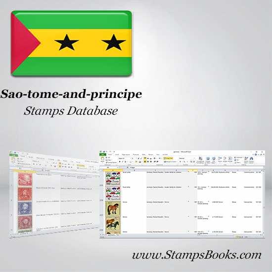 Sao tome and principe Stamps dataBase