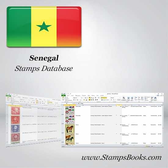 Senegal Stamps dataBase