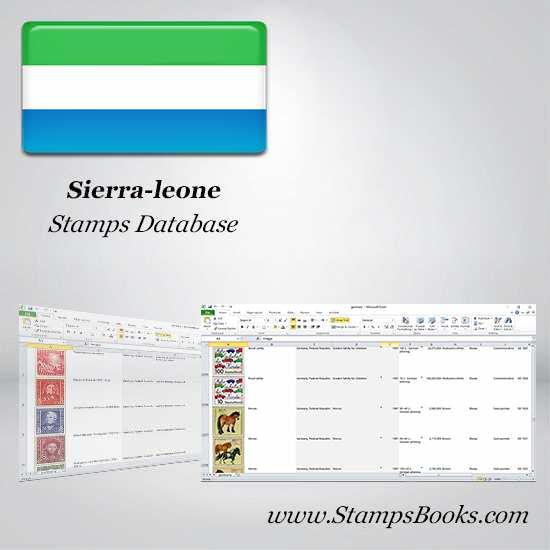Sierra leone Stamps dataBase