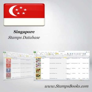 Singapore Stamps dataBase